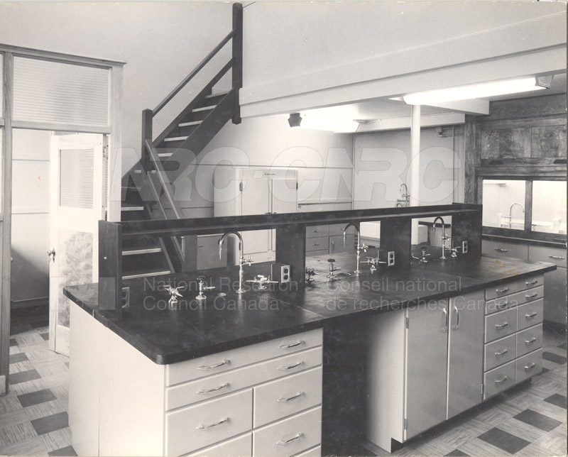 Lab Room 3143- Sussex Bldg. Completely Refitted 1954 003