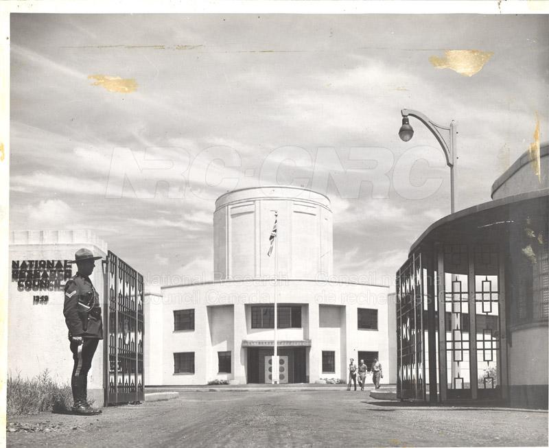 Main Entrance- Aeronautical Building in Background