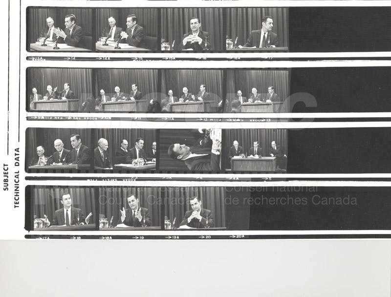 NRC Executive offices W.C. Schneider, F.K. Tupper 1968 001
