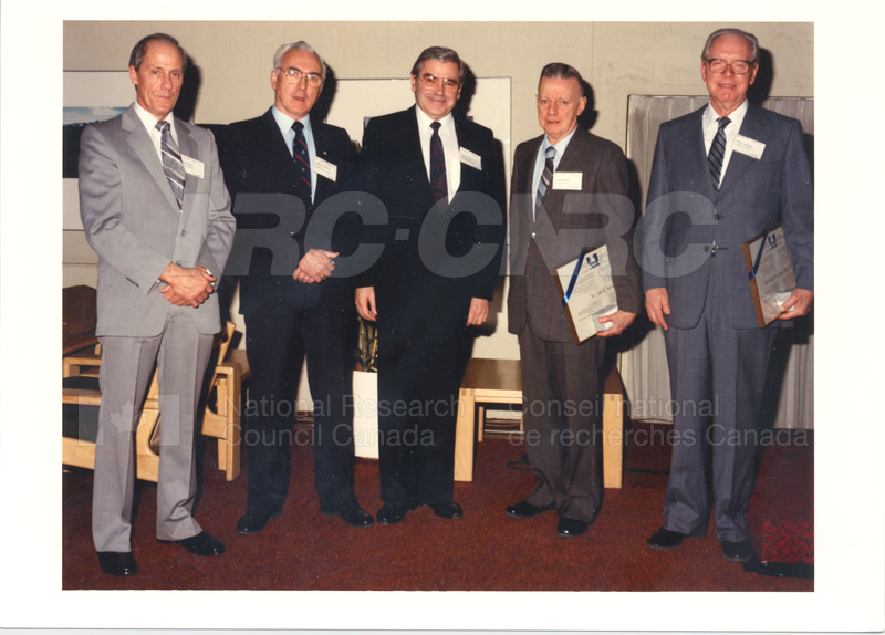 Researcher Emeritus Council Meeting Feb.3 '88 001