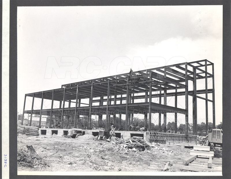 Construction of M-50 Summer 1952 #3138 002