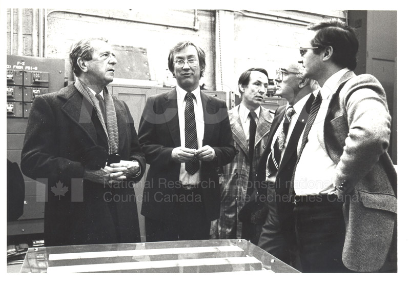 Corporate Services- Visit of French Ambassador Touring Hydraulics Lab 1981 008
