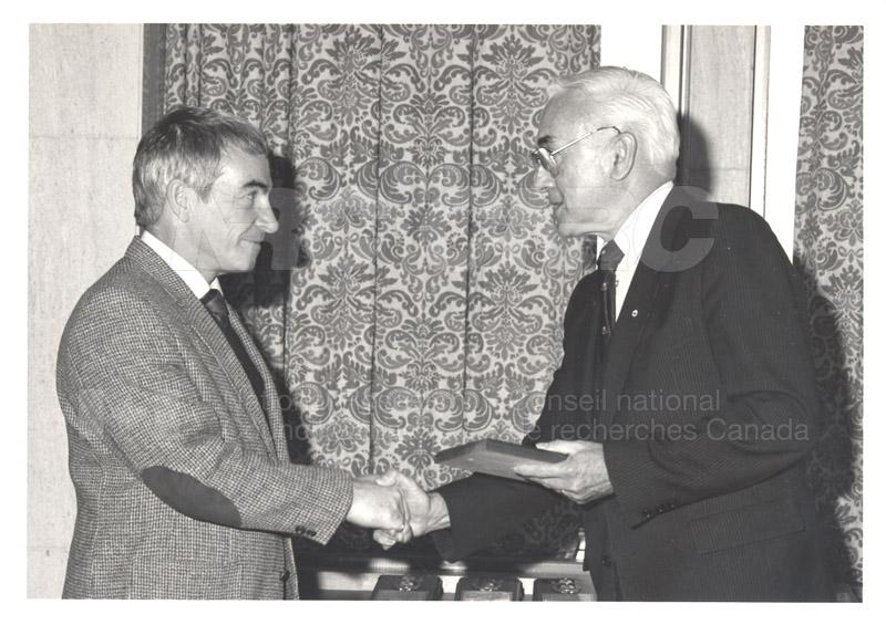 25 Year Service Presentations Nov. 1985 019