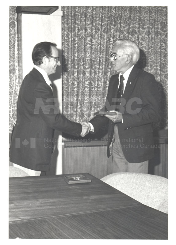 25 Year Service Plaques Presentations 1981 056