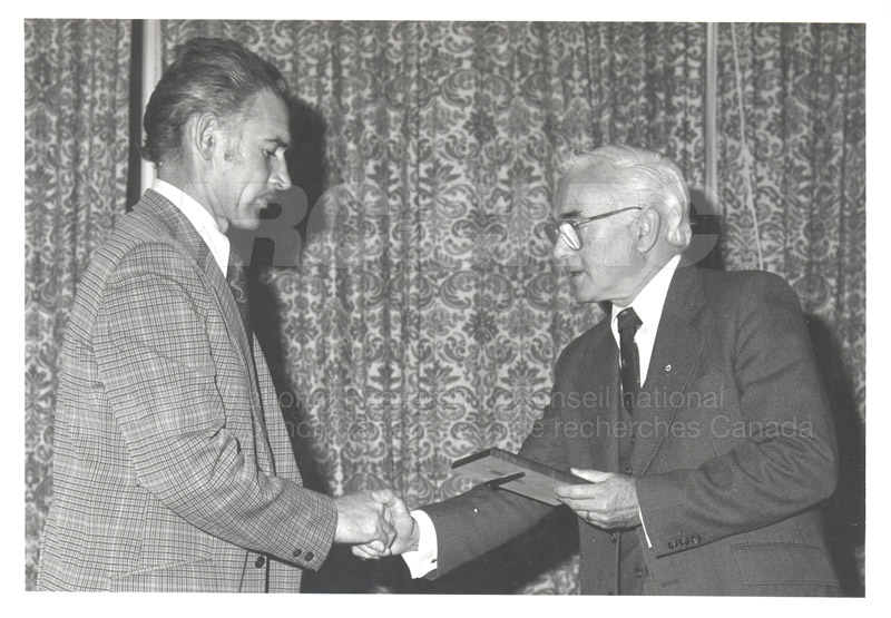 25 Year Service Plaques Presentations 1981 016