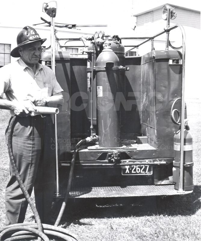Albion Road Radio Field Station- Fire Truck 1963 004