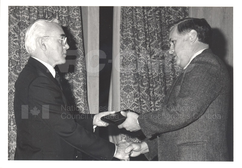 25 Year Service Presentations Oct. 29 1986 015