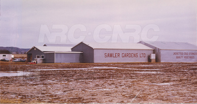 Jacketed Storage for Fresh Vegetables Berwick, Nova Scotia c.1968