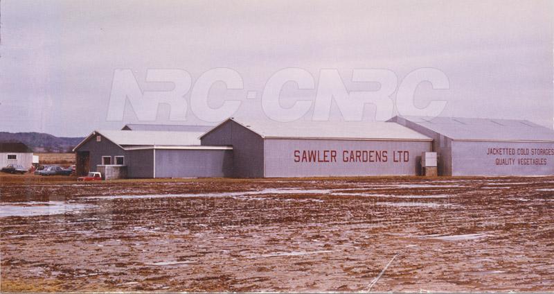 Jacketed Storage for Fresh Vegetables Berwick, Nova Scotia c.1968