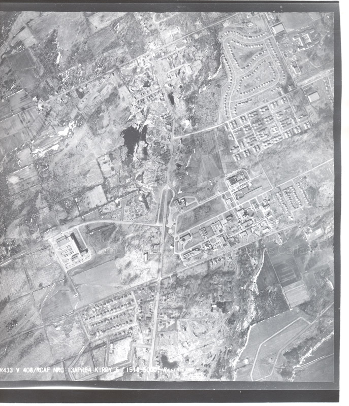 Montreal Road Campus Aerial View 1944 003 pt.2