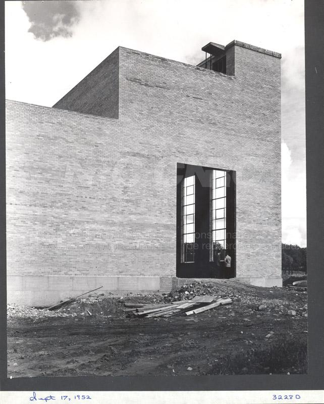 Construction of M-50 Sept. 17 1952 #3228 004