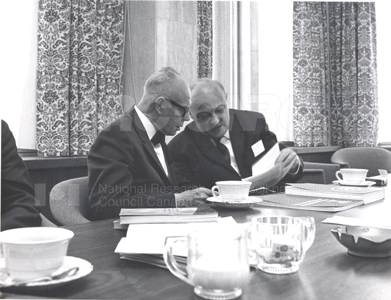 Academy of Science- Dr. Ballard and Dr. Jaroslavkozenik, Czechoslovakia 1966 006