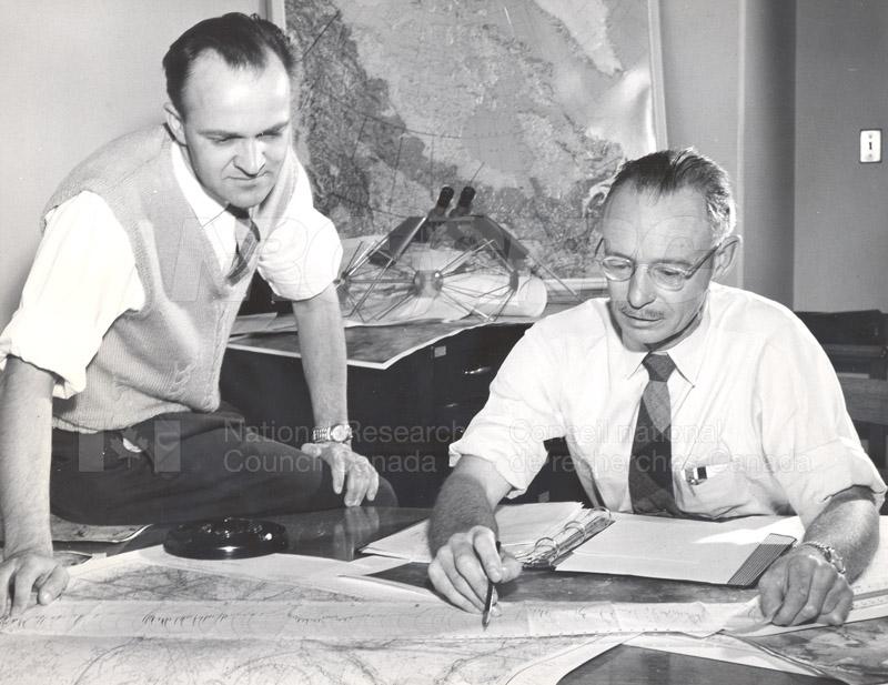 Radio Astronomy- C.F. Patterson, N.W. Broten 1957