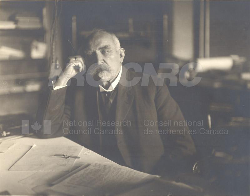 Portrait of Otto Klotz