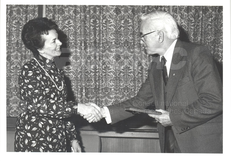 25 Year Service Plaques Presentations 1981 009
