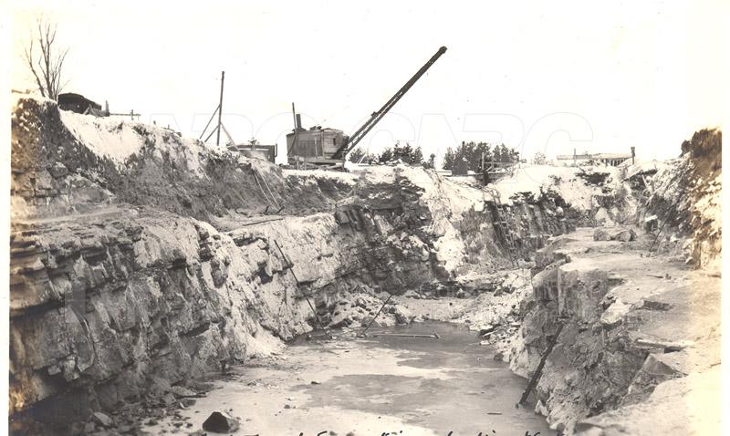 Album 12 New Annex 2 Wind Tunnel Excavation- Looking West Jan. 27 1940 002