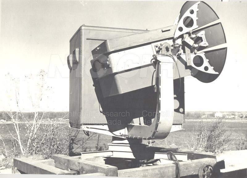 Searchlight Control Radar
