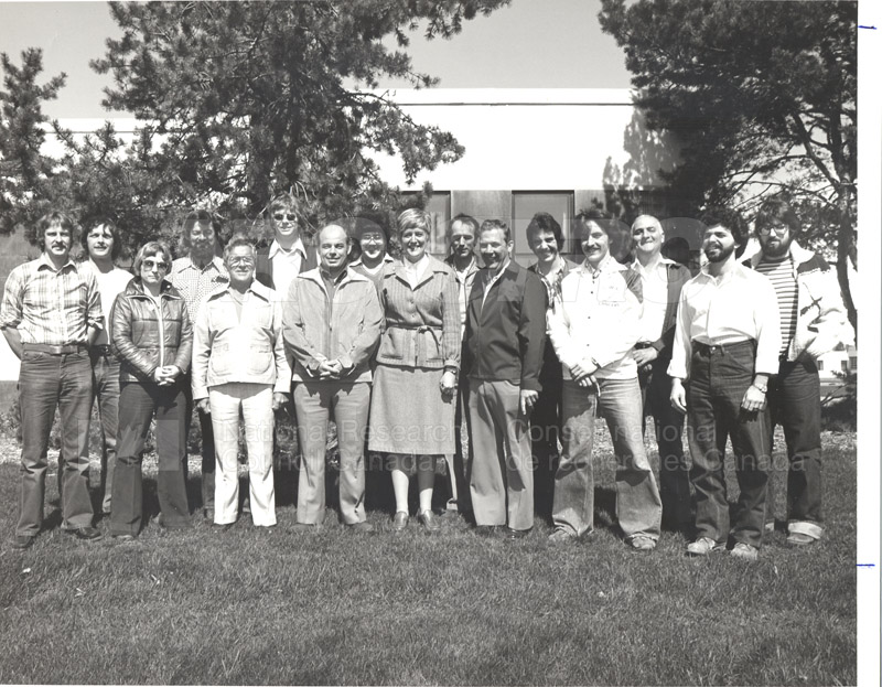 Group Portrait NRC Staff Club c.1980 folder 2