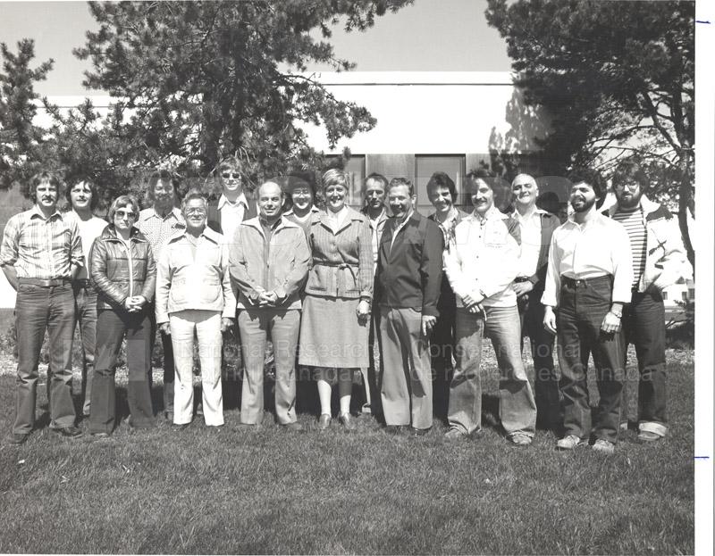 Group Portrait NRC Staff Club c.1980 folder 2