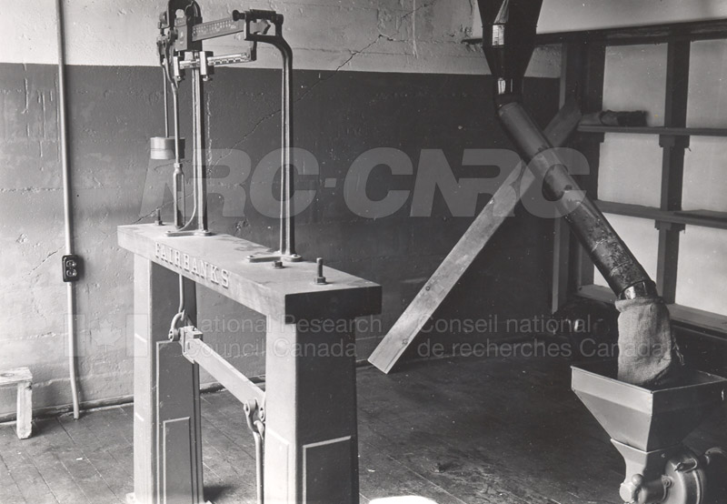 Weighing Room- Scales & Grinder