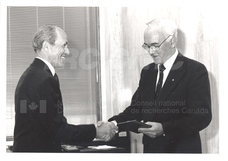 25 Year Service Presentation Sept. 12 1989 011