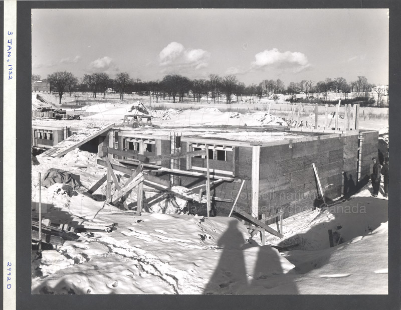 Construction of M-50 Jan. 3 1952 #2992 004
