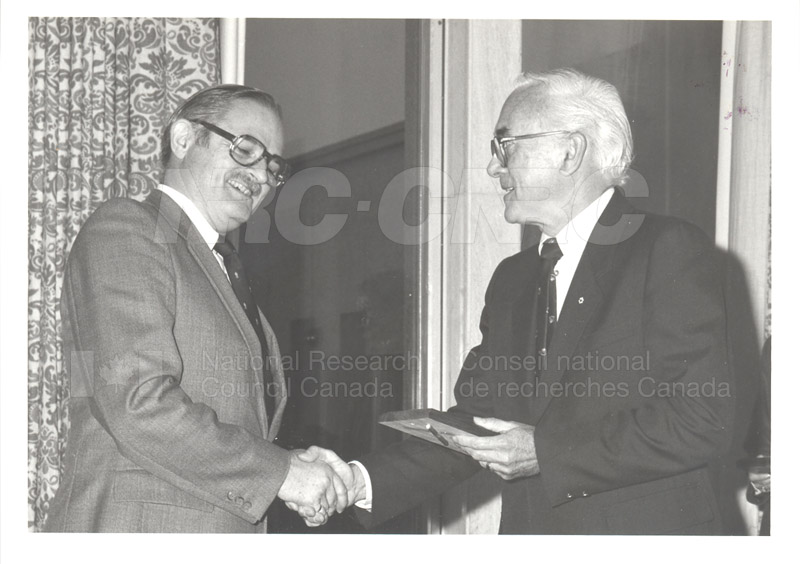 25 Year Service Plaques Presentations 1983 018