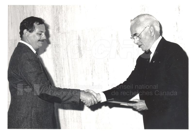 25 Year Service Presentations June 8, 1988 011