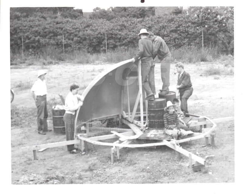 Shaping Up- John Hodges, Jean Hodges, Gerry Hodges, Jo Thauberger, John Toews June 1953