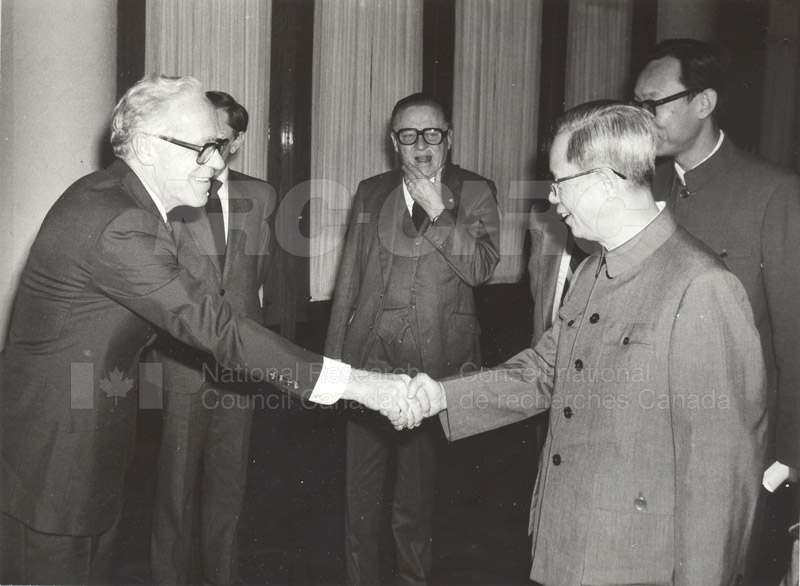 NRC Delegates meeting with Mr. Fang in the Great Hall of the People, China Oct. 13, 1983 002