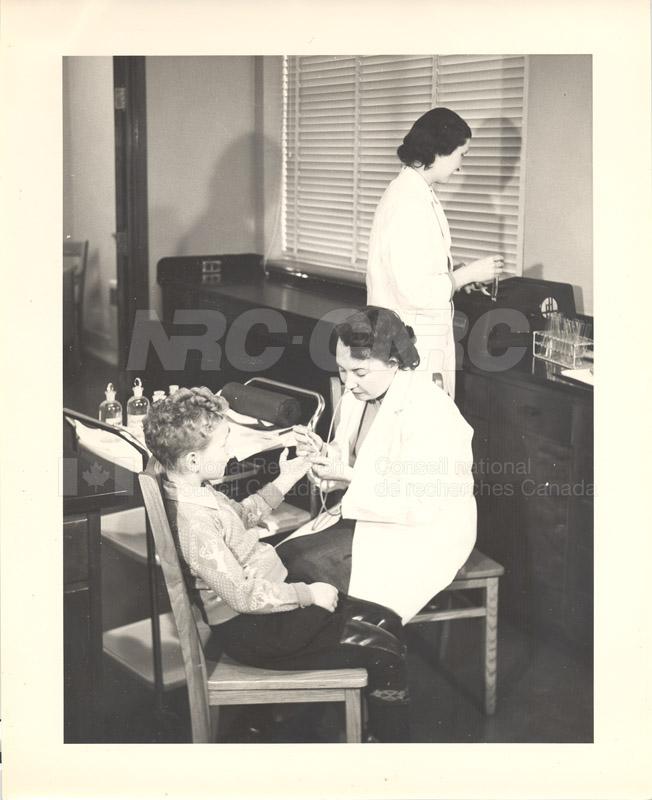 Blood Research, Halifax 1949