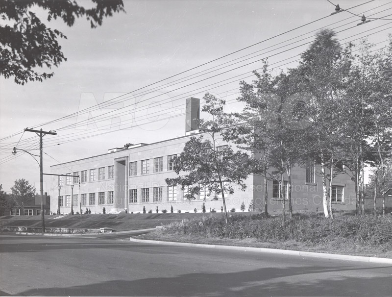 The Building- Exterior Views 1950-1968 001