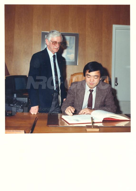 Dr. Sakamura - MITI Japan 1986 006