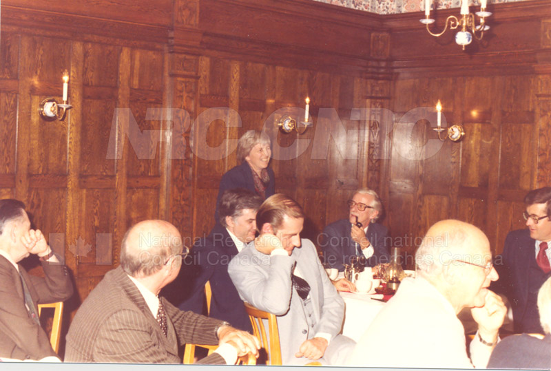 Farewell Dinner for W.G. Schneider 1980 007