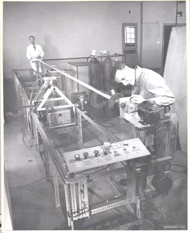 Metallurgy Lab- Ca-Ag Powder- W.A. Alexander, F. Liuzzo c. 1953