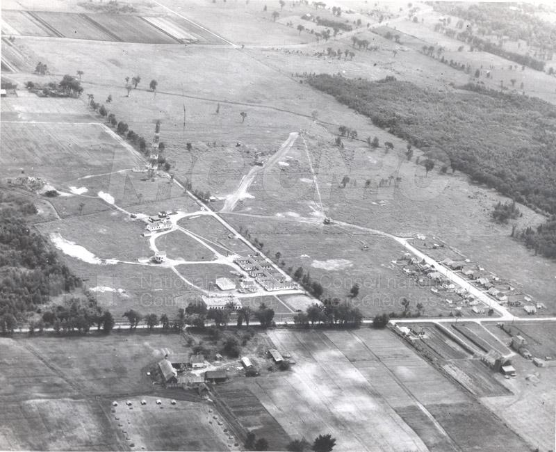 Aerial View- NRC Radio Field Station c.1949