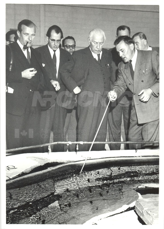 Visit of President Heuss of Germany 1958 002