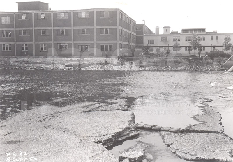 John St. Annex from Rideau River 1950