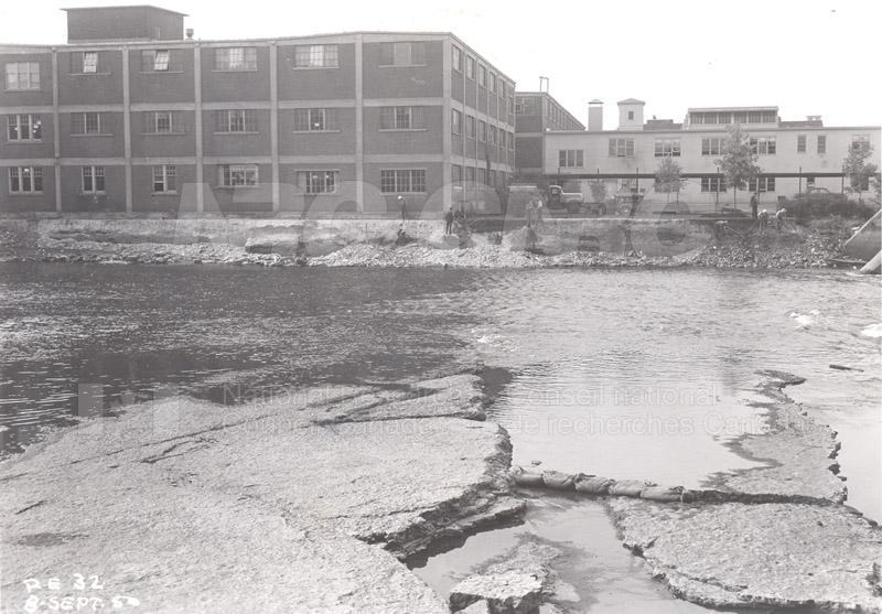 John St. Annex from Rideau River 1950