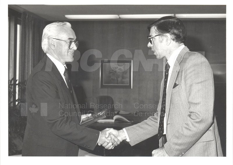 25 Year Service Plaques Presentations 1983 024