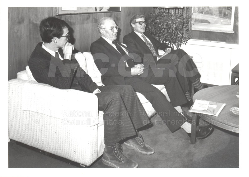 Visit of Mr. A. Williams and Dr. L. Bovey, U.K. Dept. of Industry 1982 003