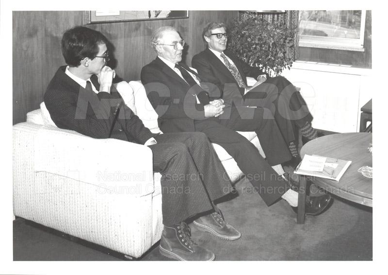Visit of Mr. A. Williams and Dr. L. Bovey, U.K. Dept. of Industry 1982 003
