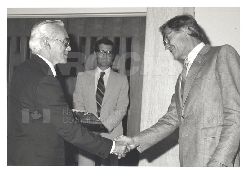25 Year Service Plaques Presentations 1981 057