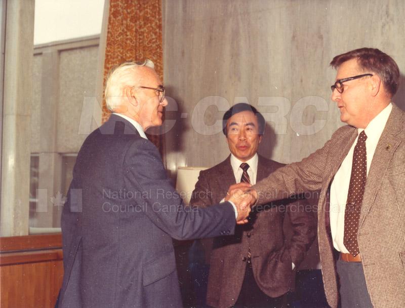40 Year Service Awards (E. Webb) 1983