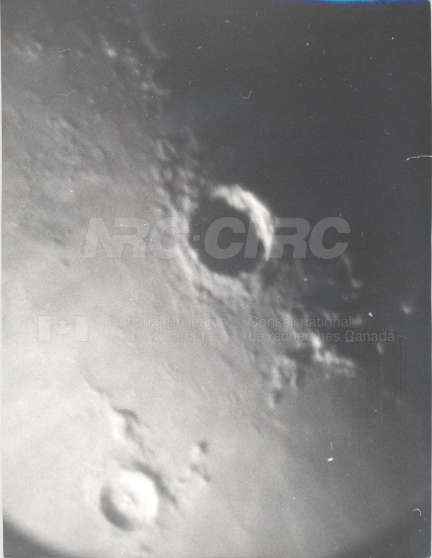 Moon- HPS Promierol 15 min.- Copernicus 18 Inch Refr.- Bank, E. Burgess, G. Fielder