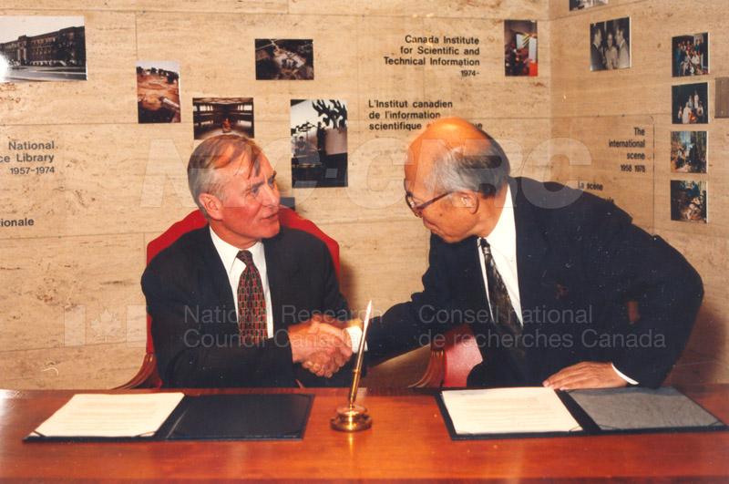 Agreement Signing RIKEN 23 Sept. 1997 016