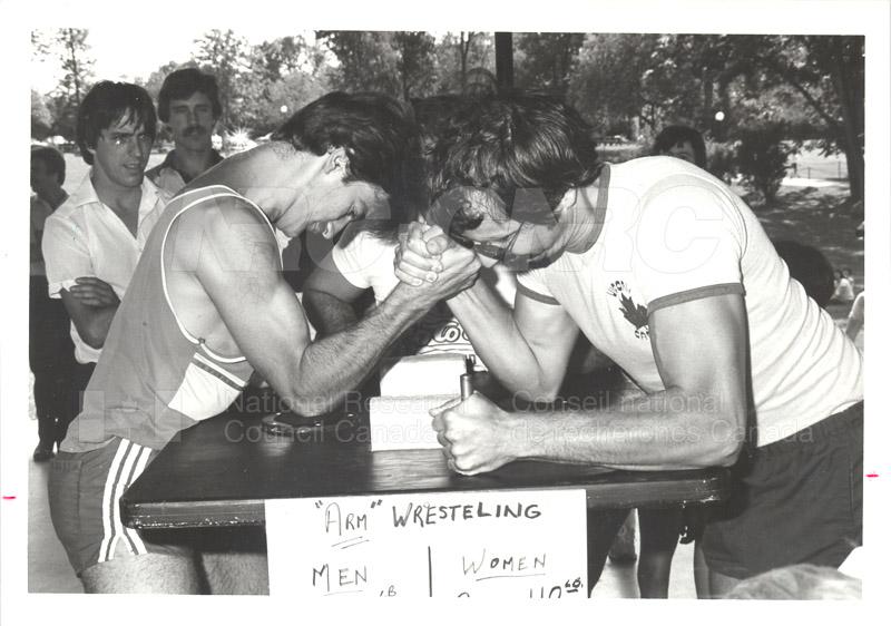NRC Employees' Picnic Vincent Massey Park 1984 004