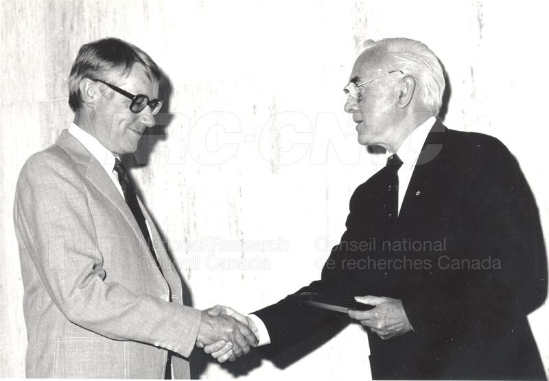25 Year Service Presentations June 8, 1988 010