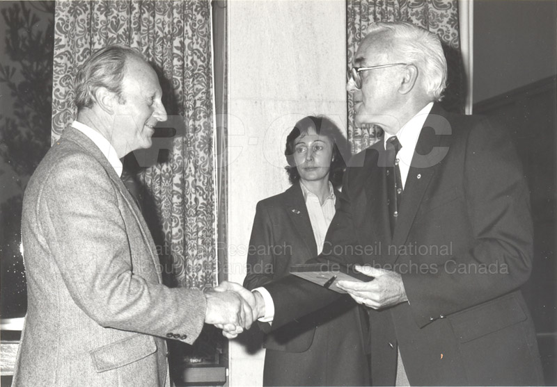 25 Year Service Plaques Presentations 1983 016