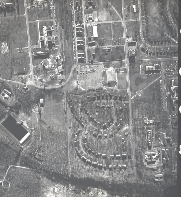 Montreal Road Campus Aerial View 1944 001 pt.2